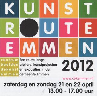 KunstRouteEmmen2012
