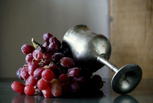 Druiven kelk