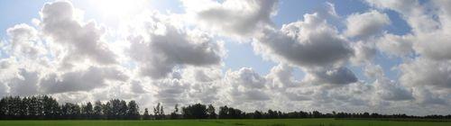Wolken Boelsums Veen