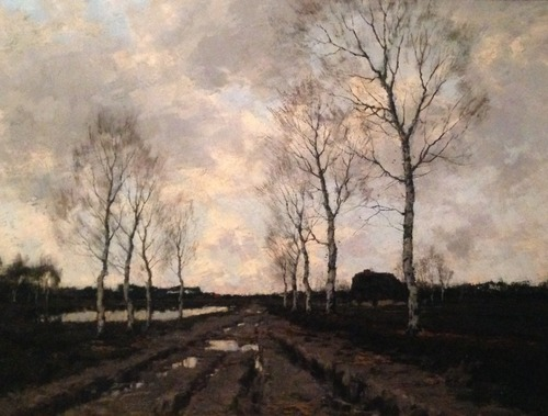 Landweg in Drenthe Arnold Gorter