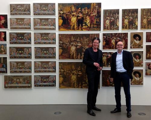 Ralph Keuning en Andreas Bluhm