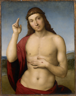 Rafael Zegenende Christus