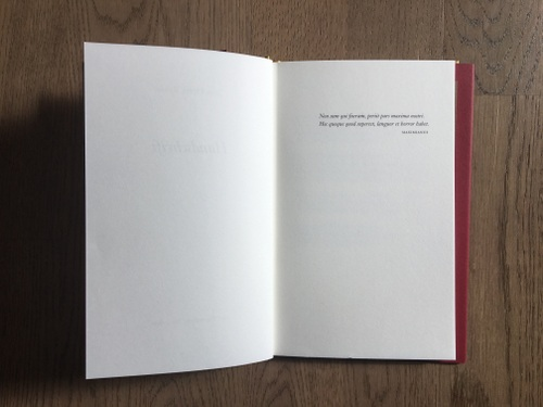 Motto Handschrift Jean Pierre Rawie