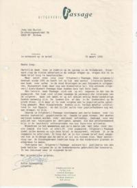 Brief Anton Scheepstra 1992