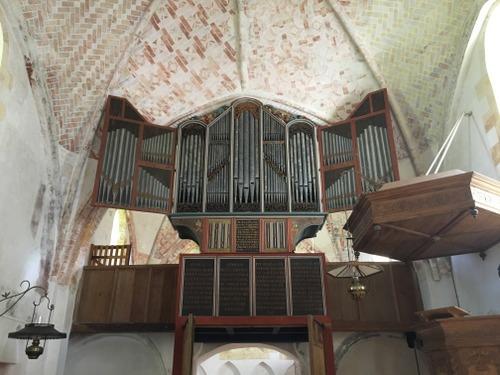 Orgel Mariakerk Krewerd