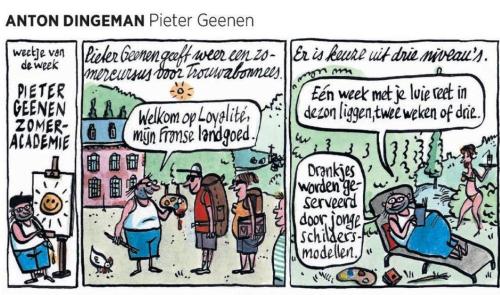 Zomeracademie Pieter Geenen 1