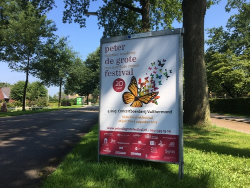 Op komst Peter de Grote Festical 2017
