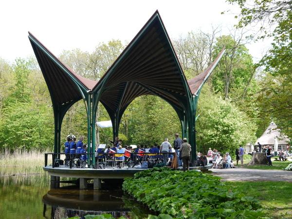 Muziekkoepel  Leiden 2