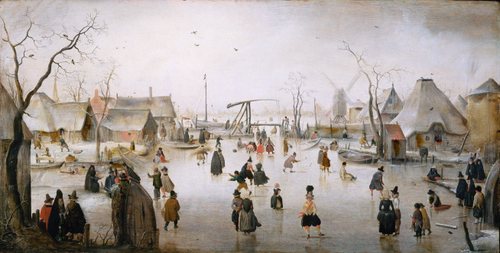 IJsvermaak 1610  Hendrick Avercamp