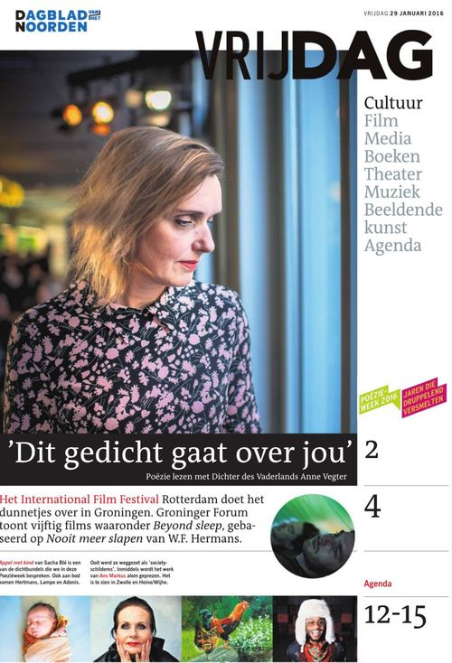 Vrijdag Anne Vegter