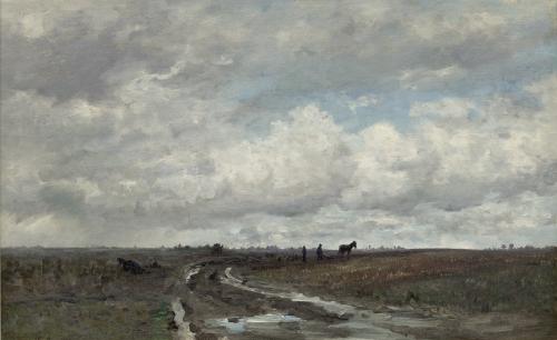 Landschap nabij Vries Mesdag