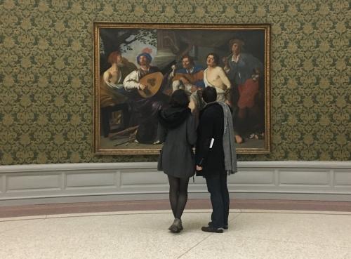 MSK Gent Allegorie van de vijf zintuigen Theodoor Rombouts