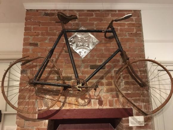 De fiets van Edward Hopper