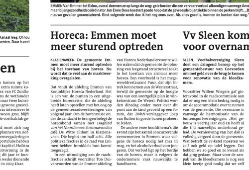 Horeca Emmen