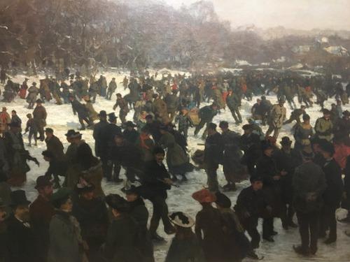 Schaatsdenrijden (1891) Willem Bastian Tholen