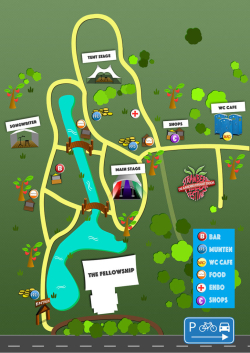 Strawberry Fields Plattegrond