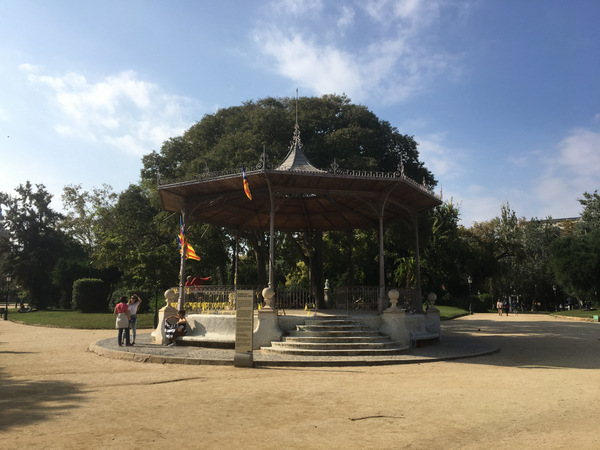 Muziekkoepel Barcelona