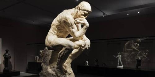 Rodin De Denker Groninger Museum