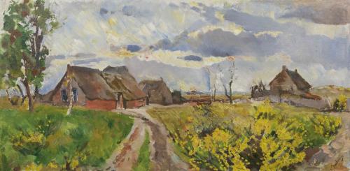 Boerderijen in Drents Landschap Dülmen Krumpelmann E.B. von