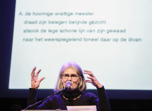 Antjie Krog Foto Henk Veenstra SLAG