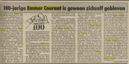 100 jaar Emmer Courant