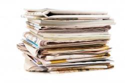 Oude kranten