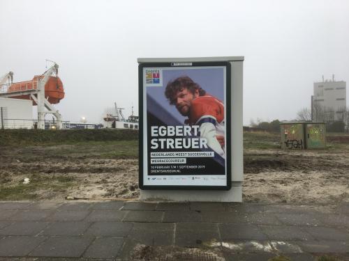 Op komst Egbert Streuer in het Drents Museum