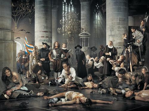 Liberty  pest en honger tijdens Leidens ontzet (2011) Erwin Olaf