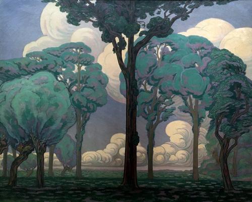 Landschap op Walcheren 1919 Simon Moulijn