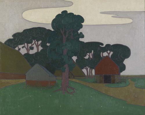 Drentse boerderij Diphoorn (1894) Simon Moulijn