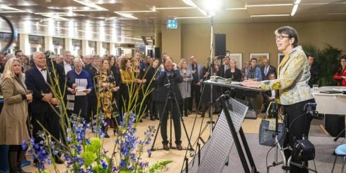 Jetta Klijnsma spreekt Foto Marcel Jurian de Jong DvhN