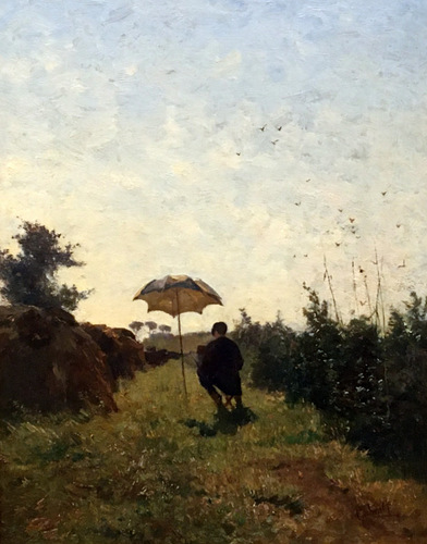 En plein air 1870 Constant Gabriel