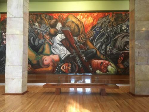 Muurschilderij Mexico (2)