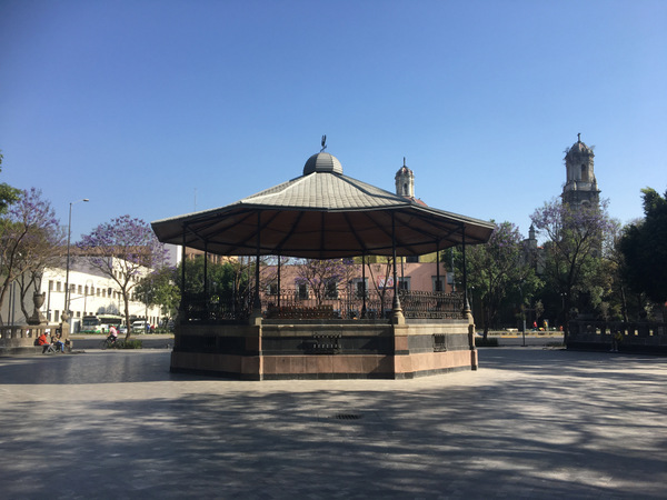 Mexico-Stad Alameda Central