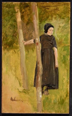 Kind onder bomen (1882) Max Liebermann