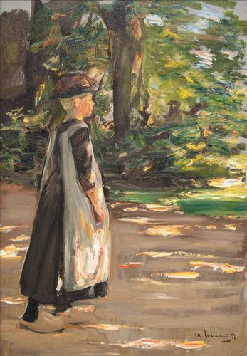 Gehandes Madchen (1897) Max Liebermann Foto Museum Singer Laren