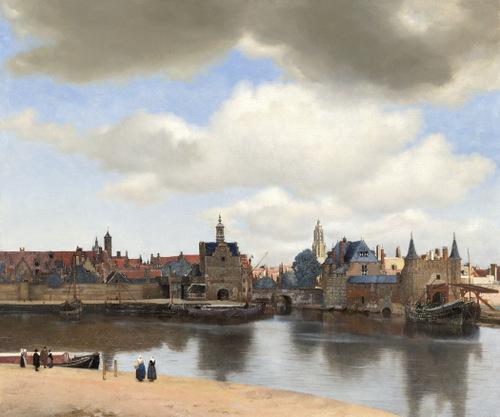 Zicht op Delft Johannes Vermeer