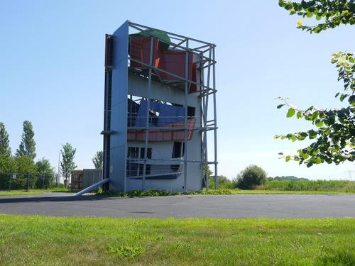 Videopaviljoen Zaha Hadid Bedrijvenpark Fivelpoort  Appingedam 3