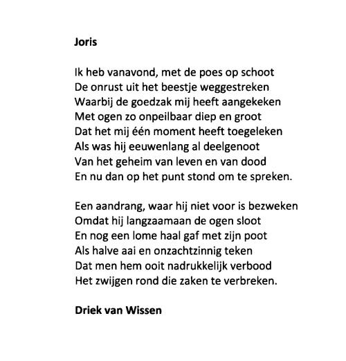 Joris - Driek van Wissen