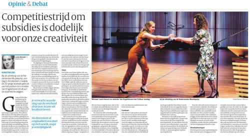 Lucie Horsch De Volkskrant