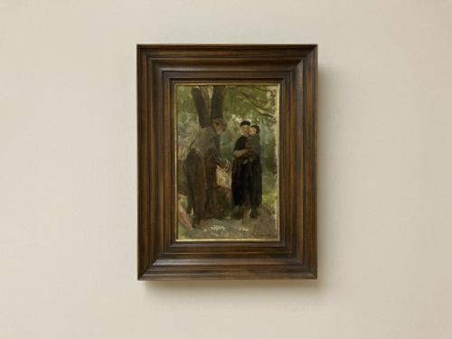 Zkizze einer Bauernfamilie (1898) Max Liebermann-001