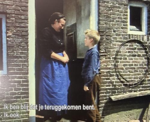 Vrouw Bartels en Bartje