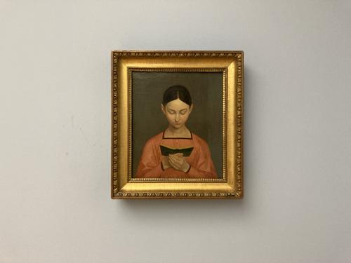Lesendes Madchen (1829) Gustav Adolf Hennig