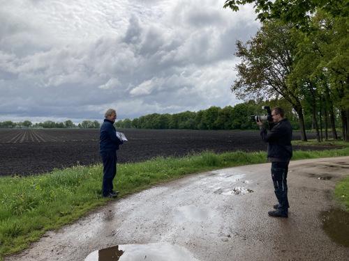 Sjoerd Visser wordt gefotografeerd door Patrick Huisman