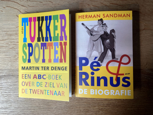 Tukkerspotten Pe en Rinus De biografie