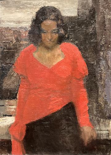 Bij het raam (1932) Valdemars Tone