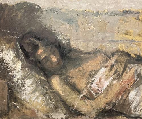 Slapende vrouw (1935) Valdemars Tone